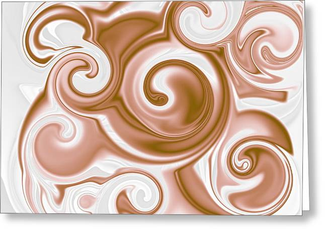 Chocolate Milk Take 2 Greeting Card by Ron Hedges