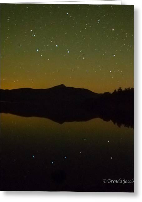 Chocorua Stars Greeting Card