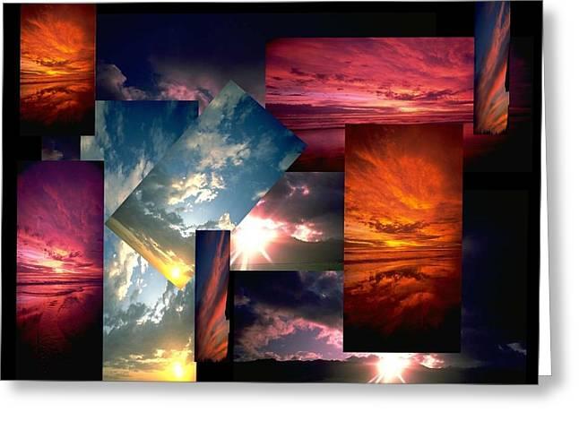 Choose Your Own Sunrise Greeting Card by Darryl  Kravitz