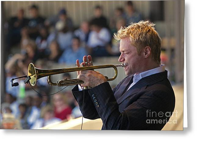 Chris Botti Greeting Card by Craig Lovell