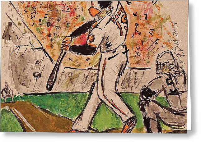 Chris Davis #19 Greeting Card