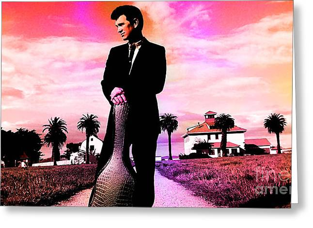 Chris Isaak Greeting Card