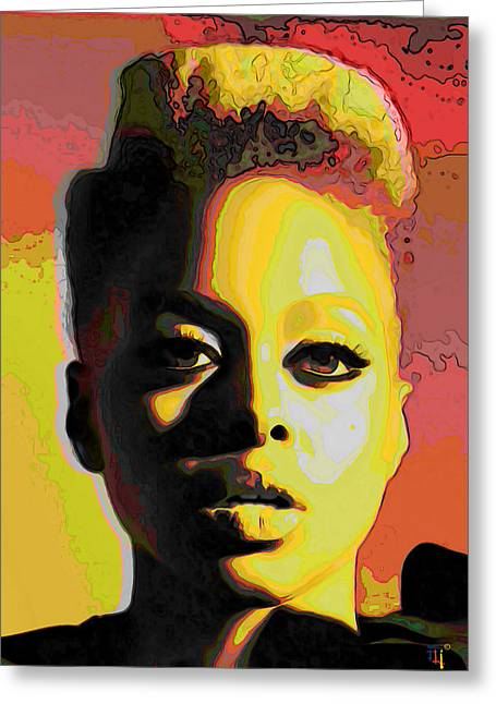 Chrisette Michele 2 Greeting Card