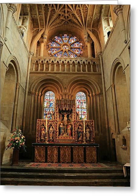 Christ Church Cathedral Altar Greeting Card