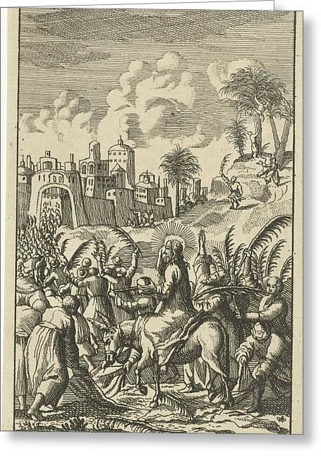 Christ Predicts The Destruction Of Jerusalem Greeting Card
