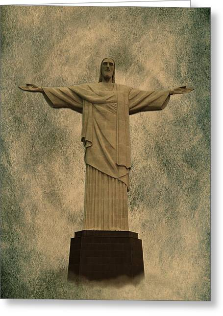 Christ The Redeemer Brazil Greeting Card