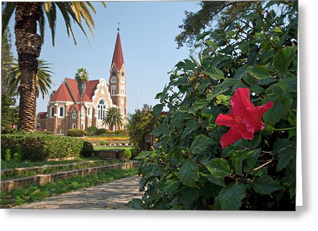 Christchurch Cathedral, Windhoek Greeting Card