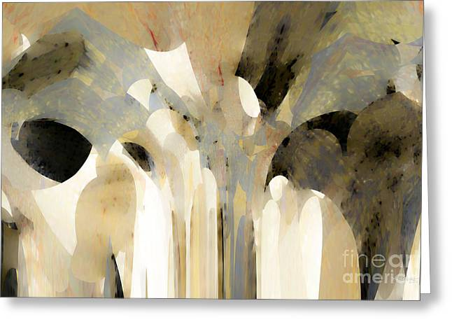 Christian Art- Angel Speaking To Jacob. Genesis 31 11 Greeting Card by Mark Lawrence