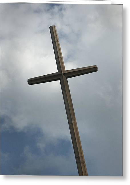 Christian Cross Greeting Card