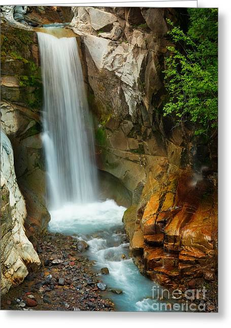 Christine Falls Greeting Card by Inge Johnsson