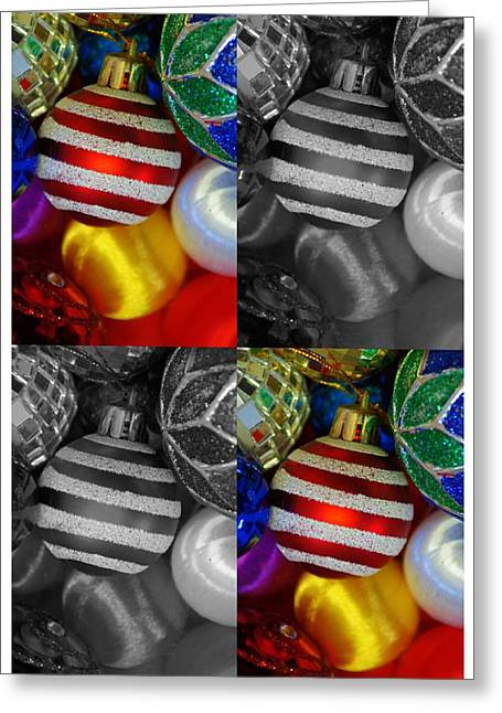 Christmas 1 Greeting Card by Jaqueline Briel
