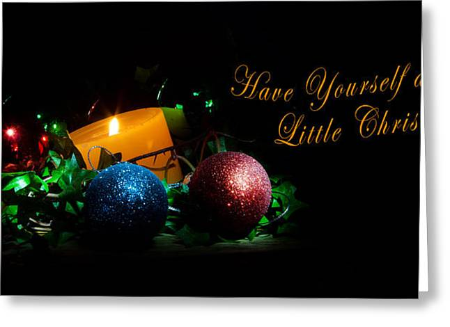 Greeting Card featuring the photograph Christmas 2013 by Cecil Fuselier