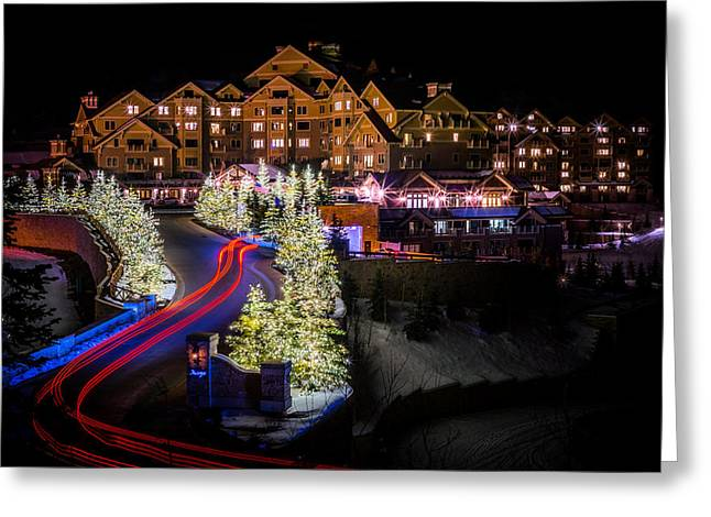 Christmas At The Montage Greeting Card