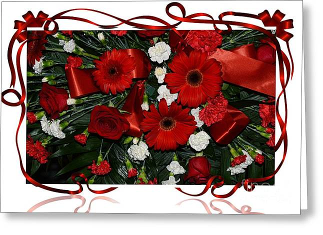 Christmas Bouquet  Greeting Card by Kathleen Struckle