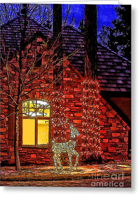 Christmas Card -2014 Greeting Card by Nancy Marie Ricketts