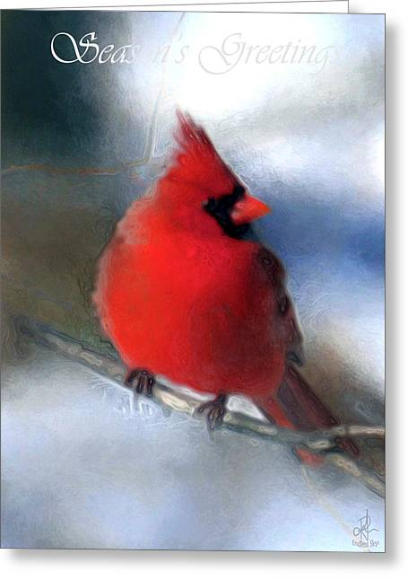 Christmas Card - Cardinal Greeting Card