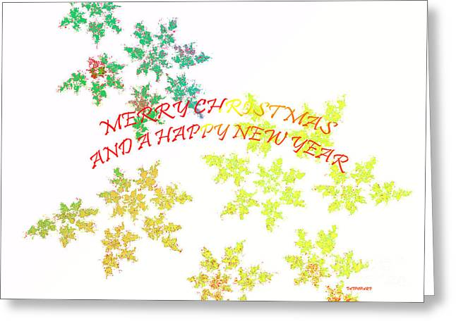 Christmas Card I Greeting Card by Tatjana Popovska