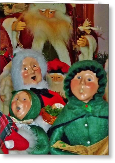 Christmas Card Greeting Card by John Wartman
