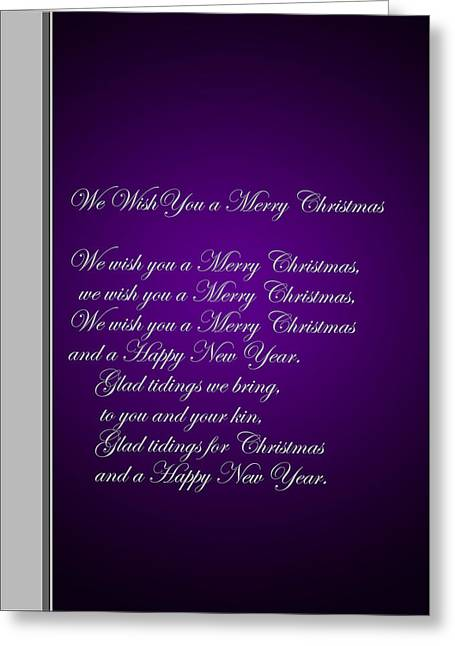 Christmas Carol 1 Greeting Card
