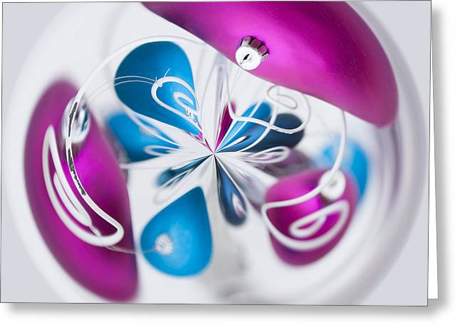 Christmas Chaos Greeting Card by Anne Gilbert