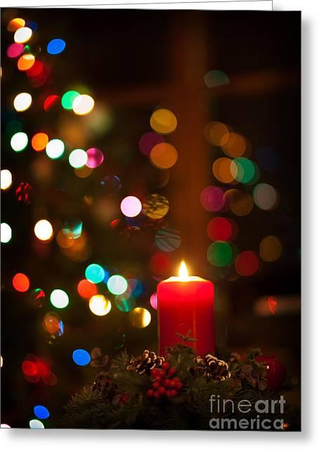 Christmas Comfort And Joy Greeting Card by Wayne Moran