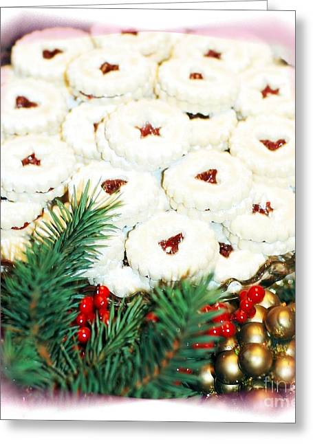 Christmas Cookies Greeting Card by Kathleen Struckle