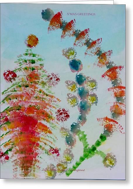 Christmas Decorations  Greeting Card by Sonali Gangane
