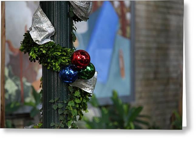 Christmas Display - Us Botanic Garden - 01132 Greeting Card by DC Photographer