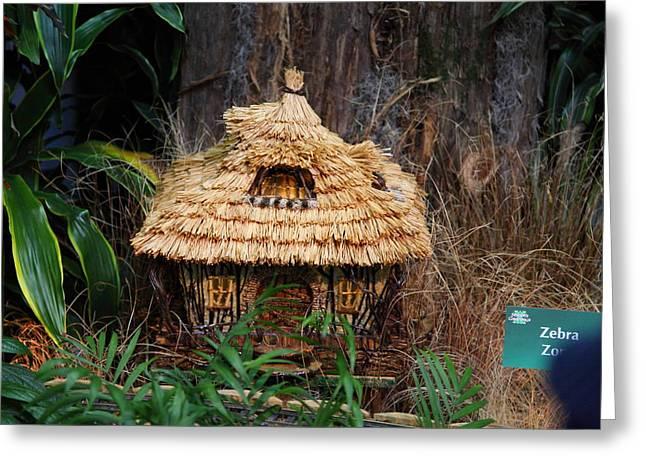 Christmas Display - Us Botanic Garden - 011333 Greeting Card