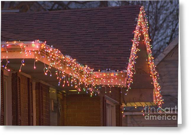 Christmas Eave Greeting Card by Jim Wright