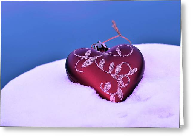 Christmas Heart  Greeting Card by Tommytechno Sweden