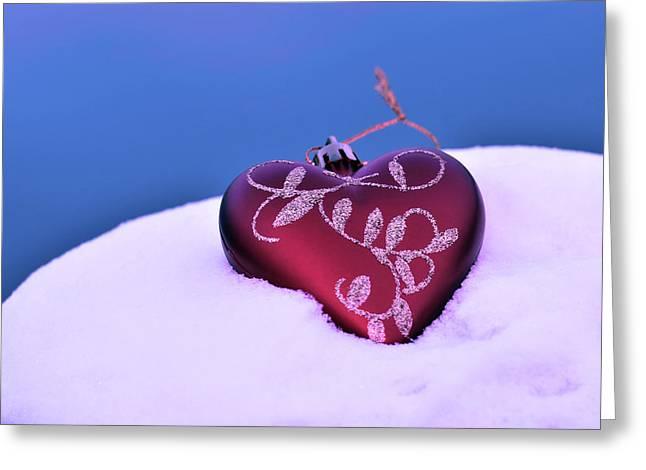 Christmas Heart  Greeting Card