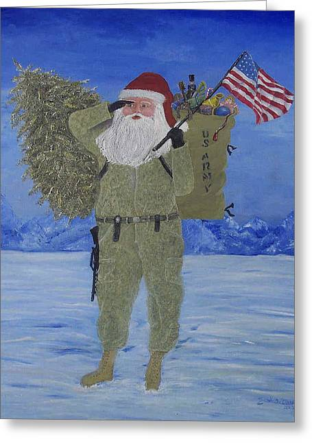 Christmas In Afghanistan  Greeting Card