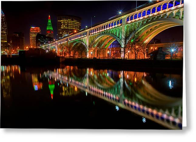 Christmas In Cleveland Greeting Card