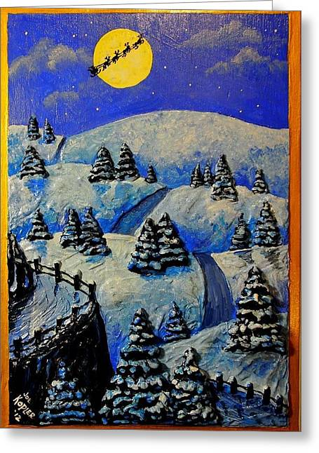 Christmas In Connecticut Greeting Card
