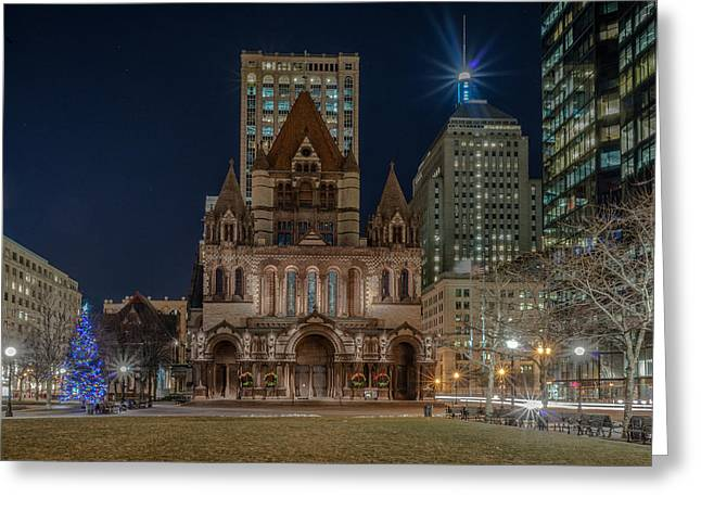 Christmas In Copley  Greeting Card