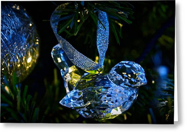 Christmas In Glass Greeting Card