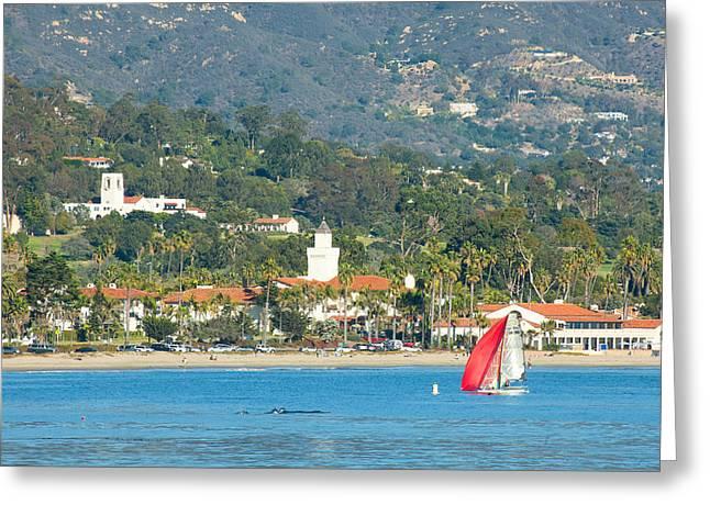 Santa Barbara California Greeting Card