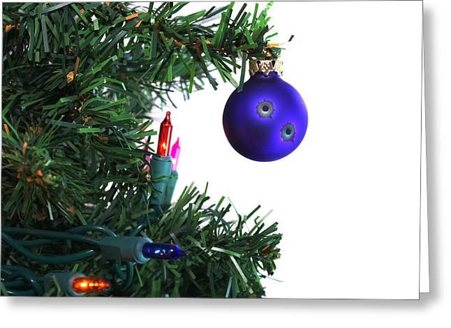 Christmas Is Shot Greeting Card