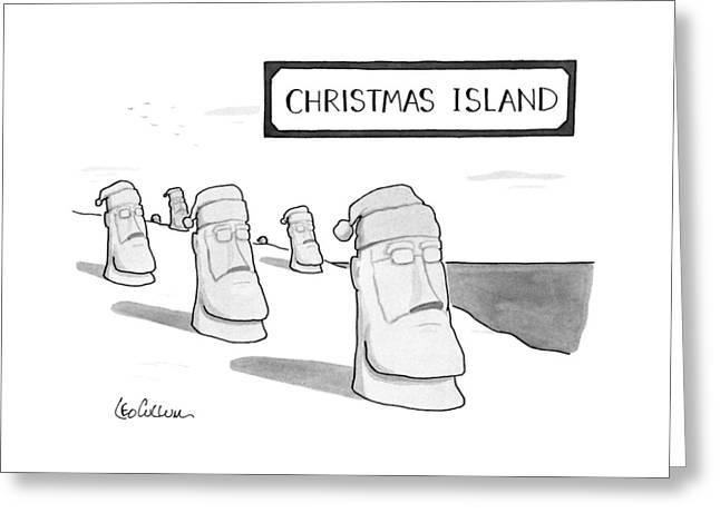Christmas Island Greeting Card