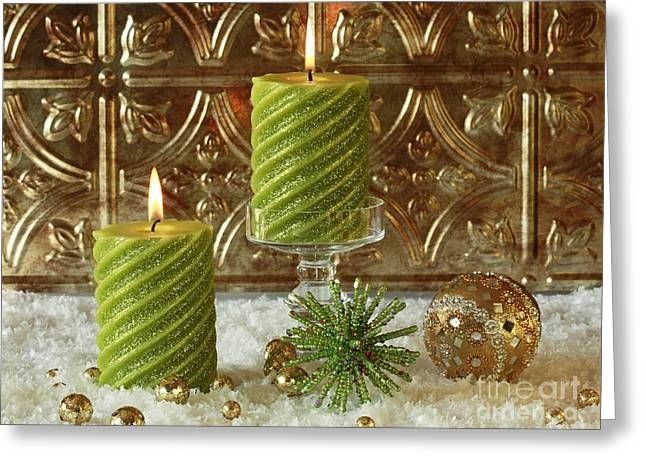 Christmas Joy Greeting Card by Inspired Nature Photography Fine Art Photography