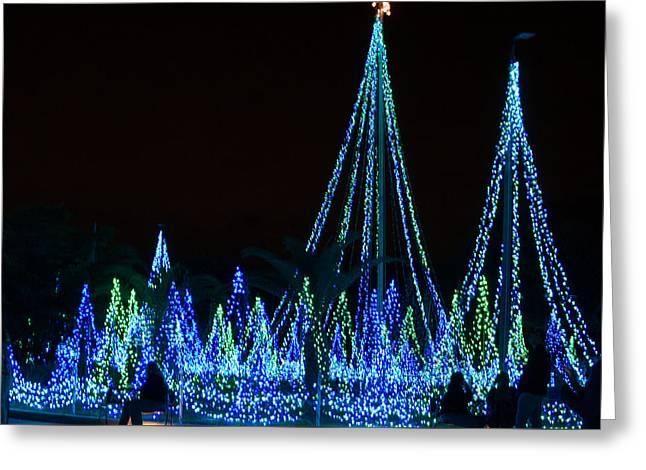 Christmas Lights 1 Greeting Card