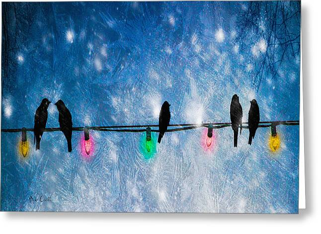 Christmas Lights Greeting Card by Bob Orsillo