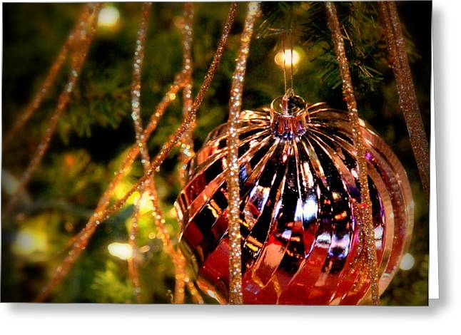 Christmas Magic Greeting Card by Karen Wiles