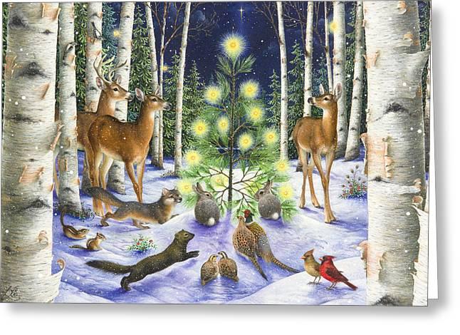 Christmas Magic Greeting Card