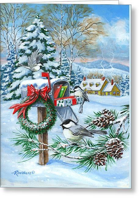 Christmas Mail Greeting Card