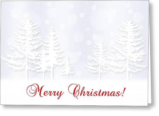 Christmas Greeting Card by Mariola Szeliga