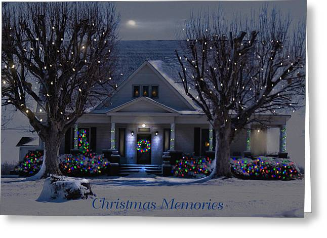 Christmas Memories2 Greeting Card