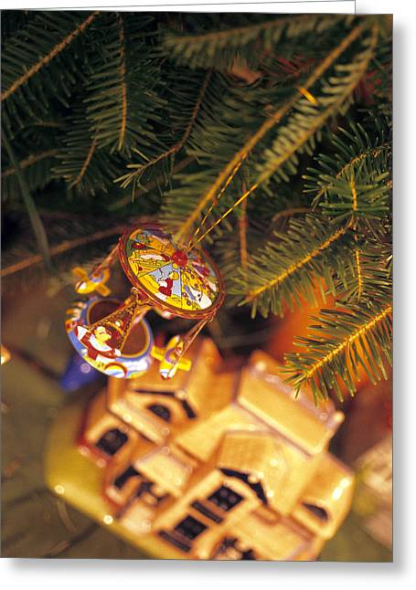 Christmas Ornaments IIi Greeting Card by Harold E McCray