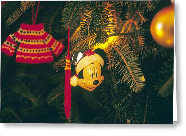 Christmas Ornaments Iv Greeting Card by Harold E McCray